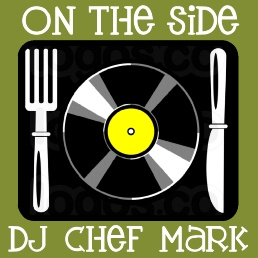 DJ Chef Mark serves up classic main dishes on vinyl with CDs on the side